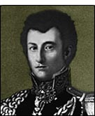 Portrait, Clausewitz in Russian uniform c.1813