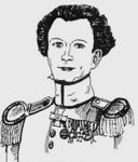 a child's drawing of Clausewitz
