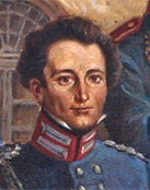 portrait, Clausewitz in 1815