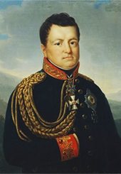 Portrait of Gneisenau, by Marie von Clausewitz