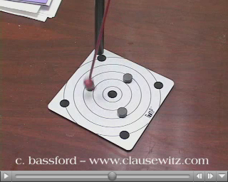 Randomly Oscillating Magnetic Pendulum