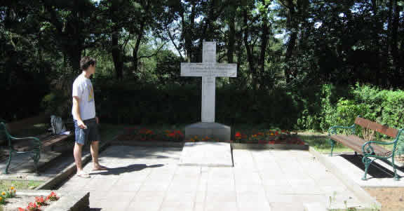 Clausewitz's tomb site
